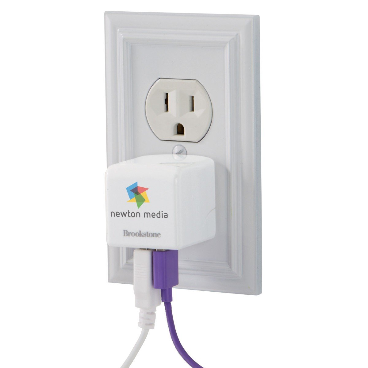 Brookstone® 3.4A Travel USB Charger